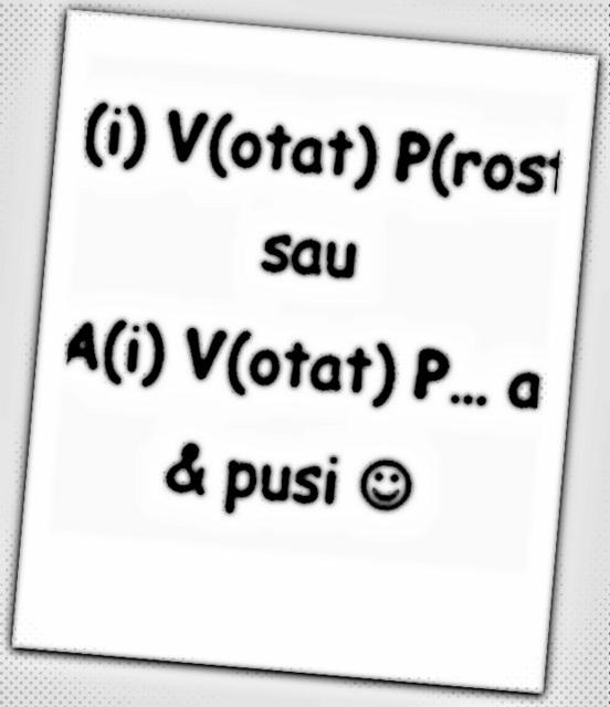 ai votat